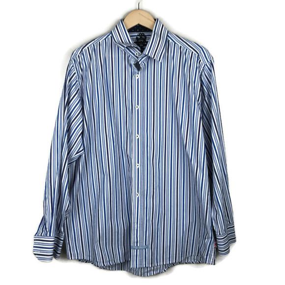 English Laundry Other - English Laundry | Mens Dress Shirt Blue Stripes